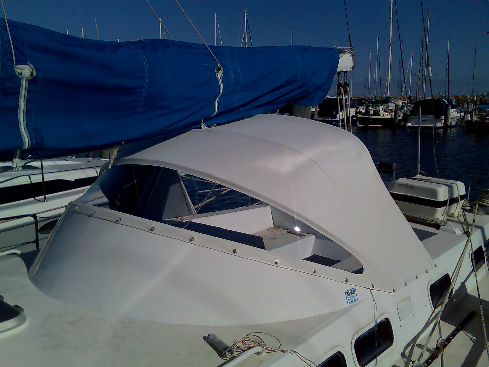 Dodger Prestige Marine Trimmers Boat Covers Perth