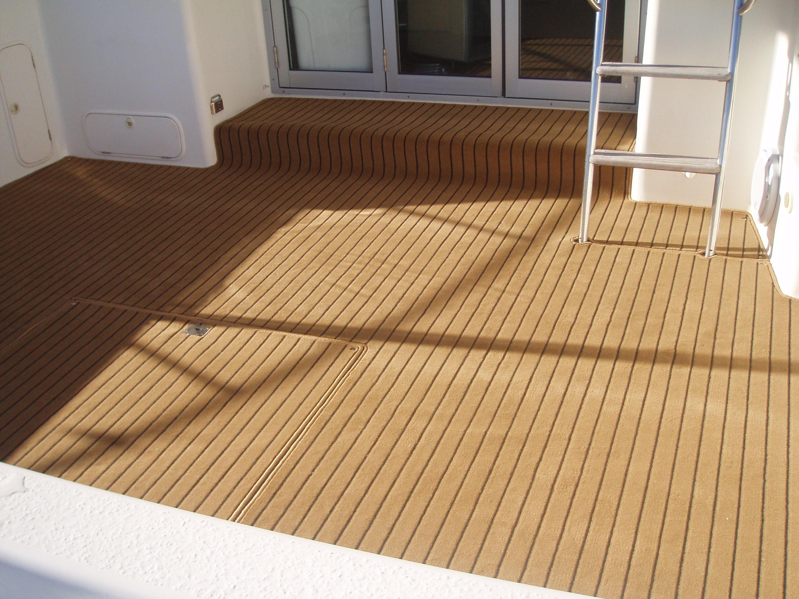 Black Teak Deck Marine Carpet Prestige Marine Trimmers