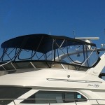 Searay, Sunbrella bimini with Strataglass