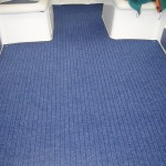 Blue Widetrack Marine Carpet