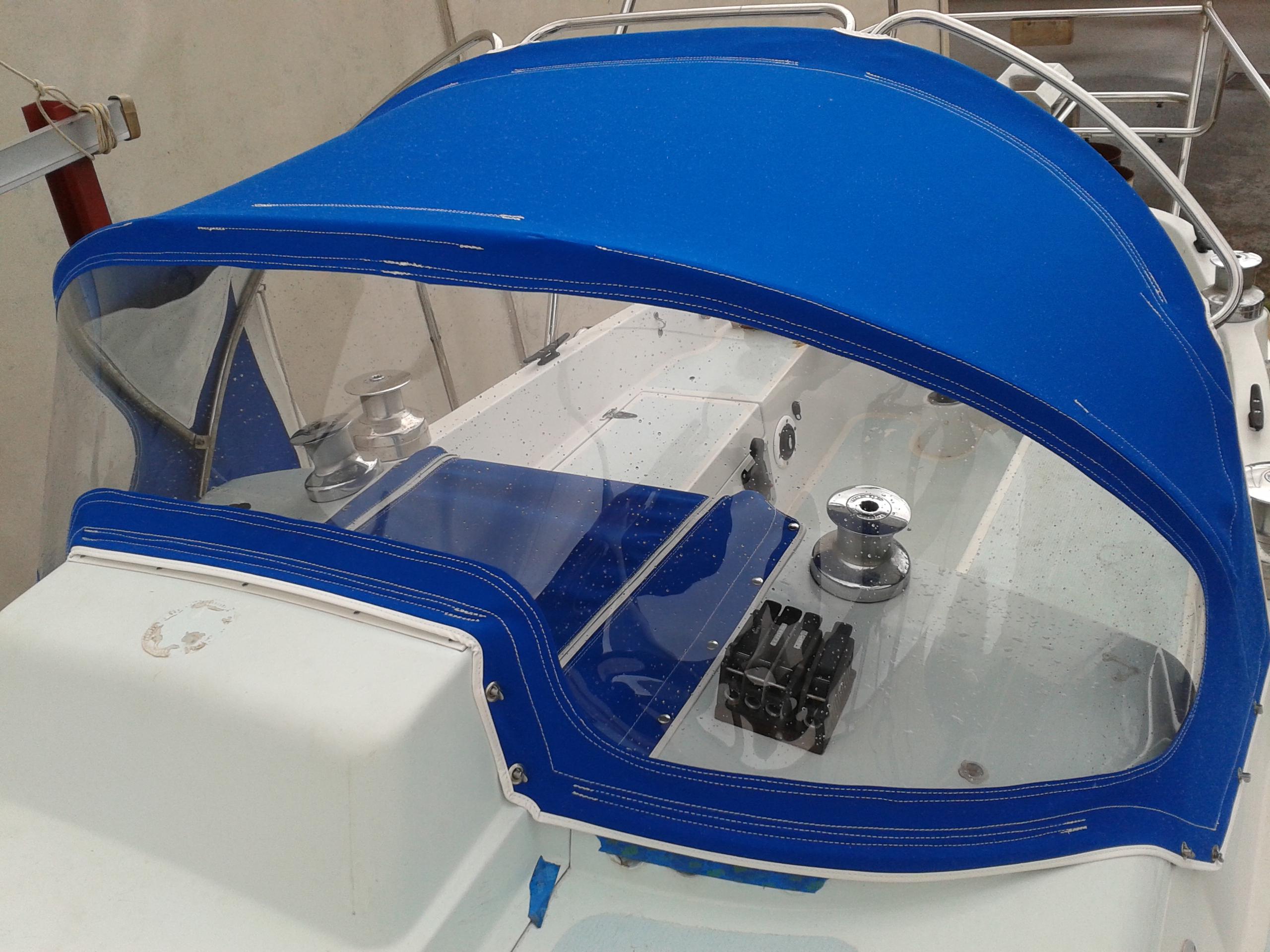 Dodger Pacific Blue Sunbrella Prestige Marine Trimmers